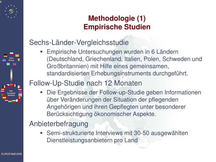 Methodologie (1)