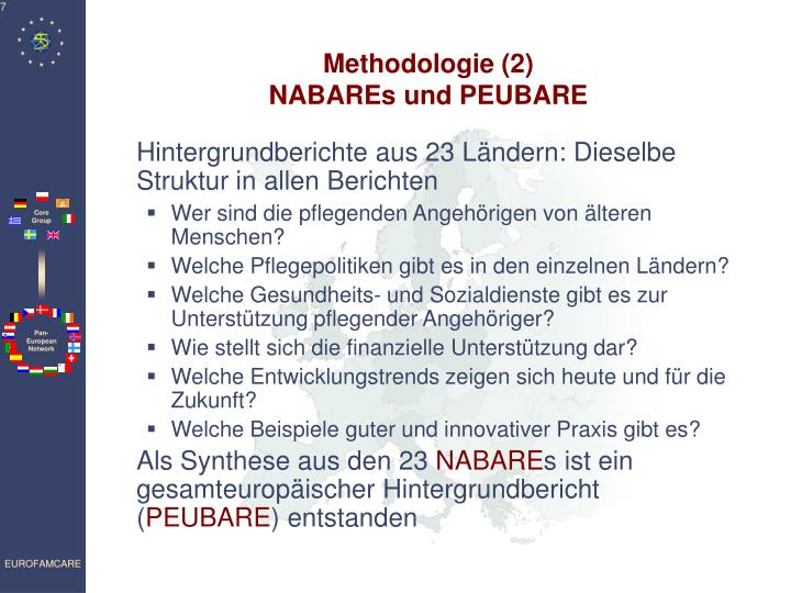 Methodologie (2)
