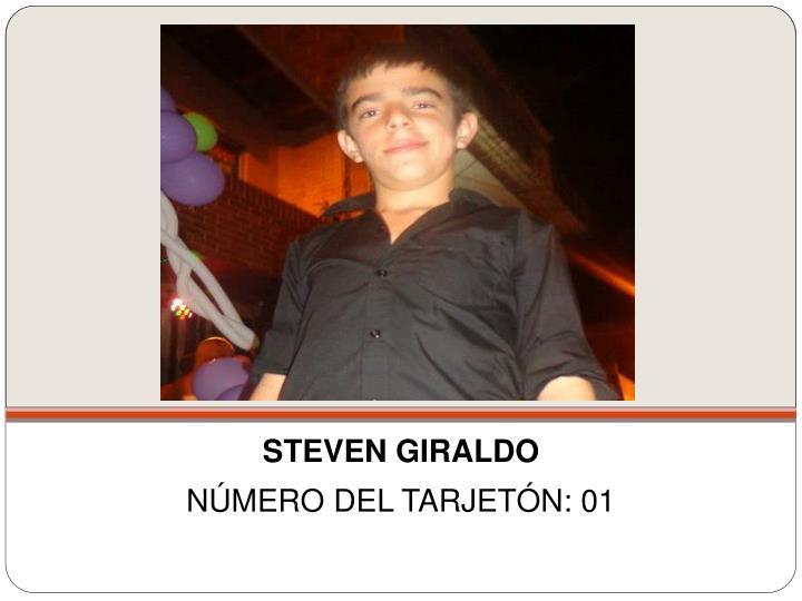 STEVEN GIRALDO