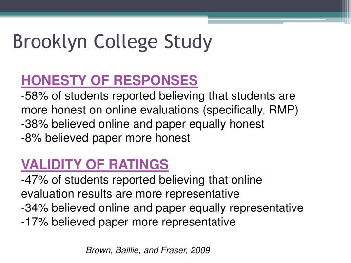 Brooklyn College Study