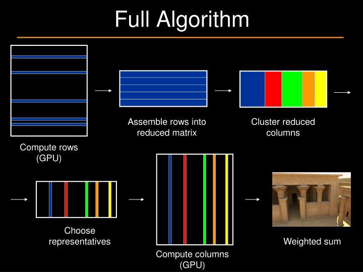 Full Algorithm
