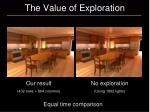 the value of exploration2