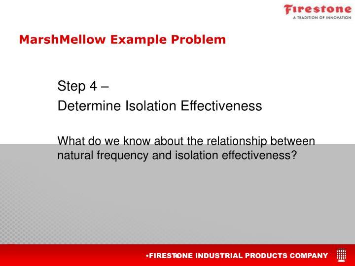 MarshMellow Example Problem