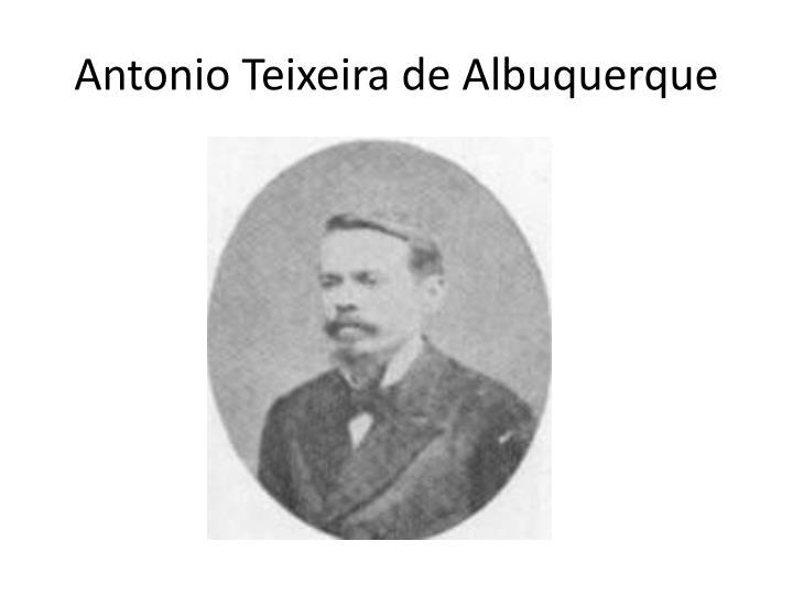 Antonio Teixeira de Albuquerque