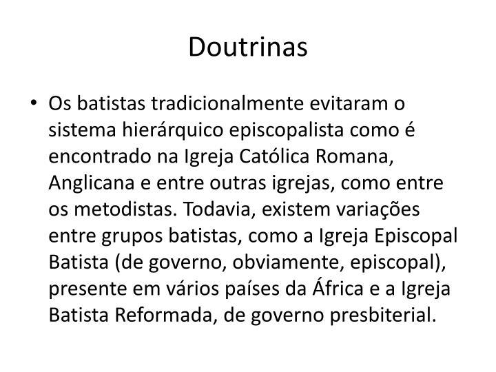 Doutrinas
