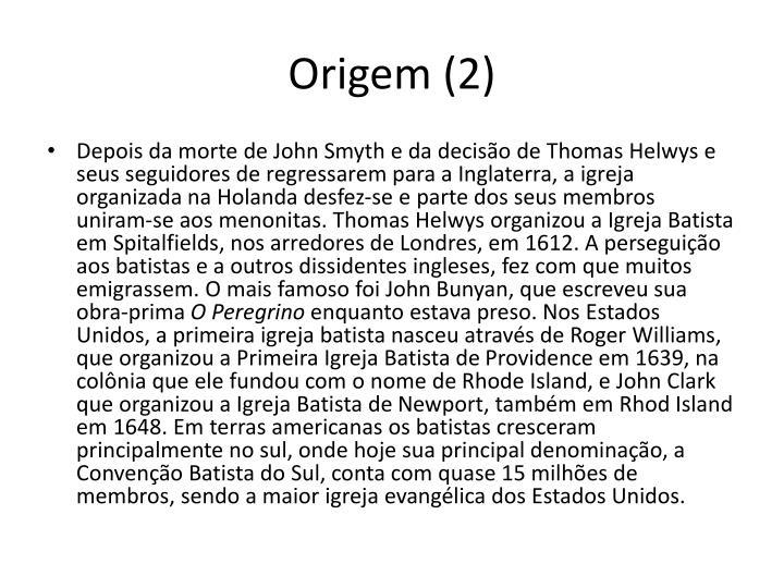 Origem (2)