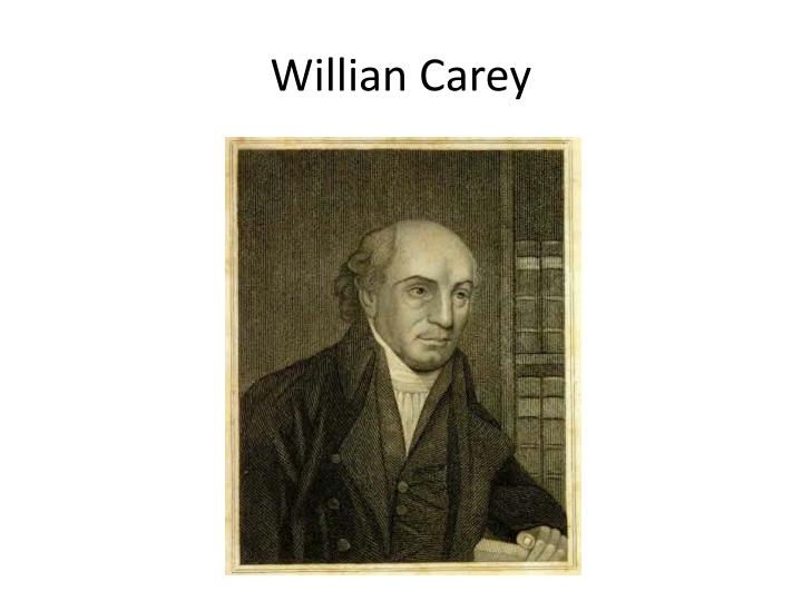 Willian Carey