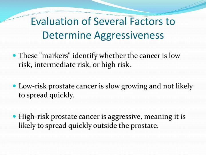Evaluation of Several Factors
