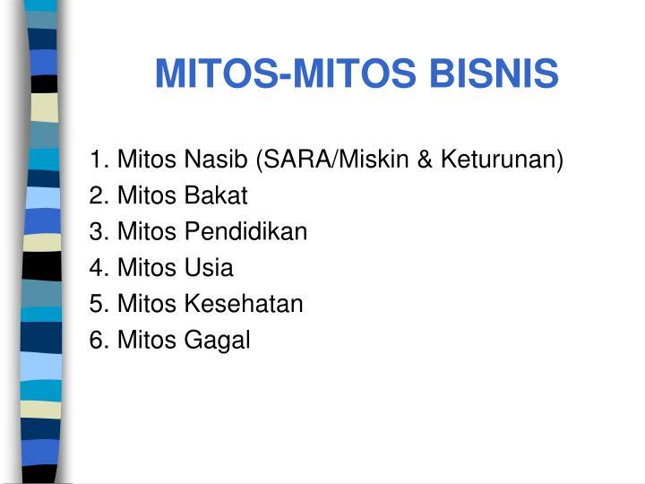 MITOS-MITOS BISNIS