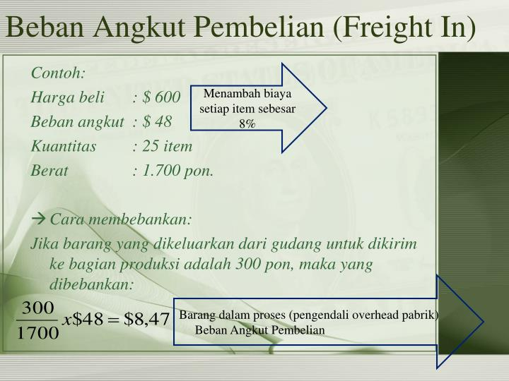 Beban Angkut Pembelian (Freight In)