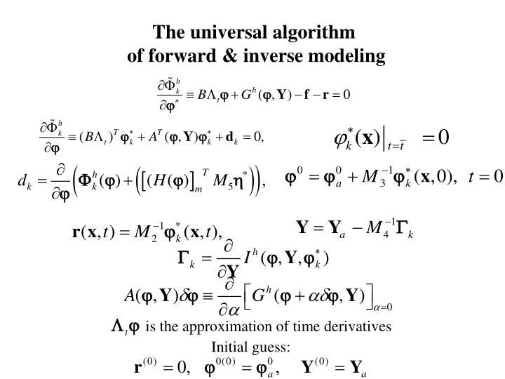 The universal algorithm