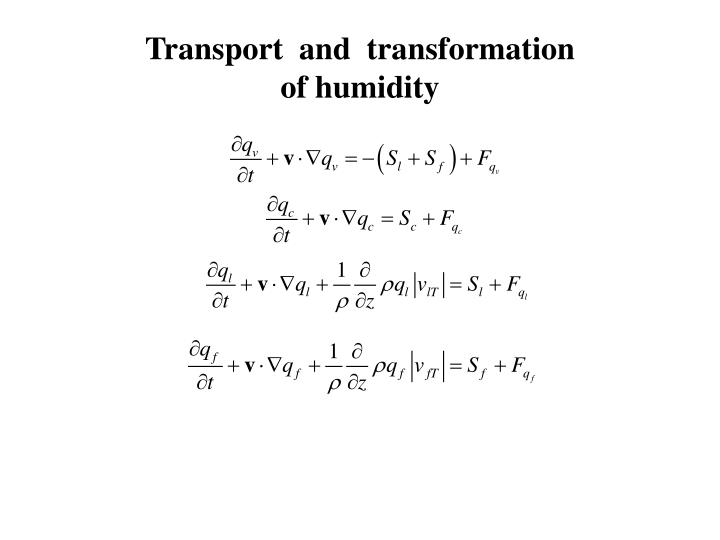Transport  and  transformation
