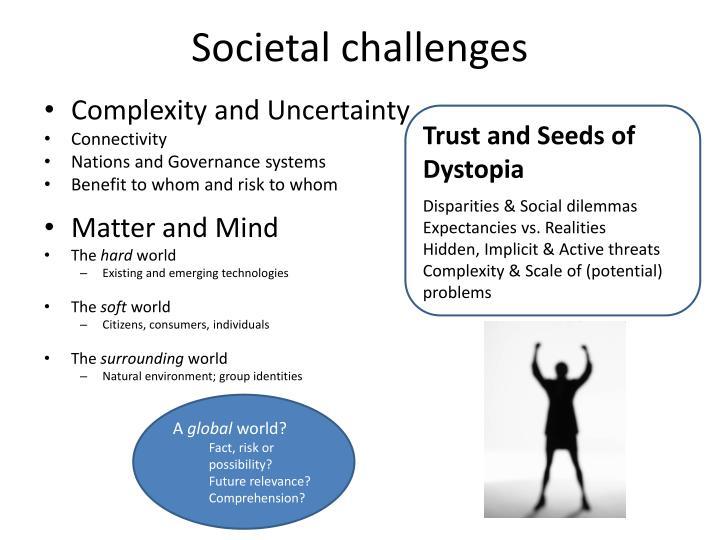 Societal challenges