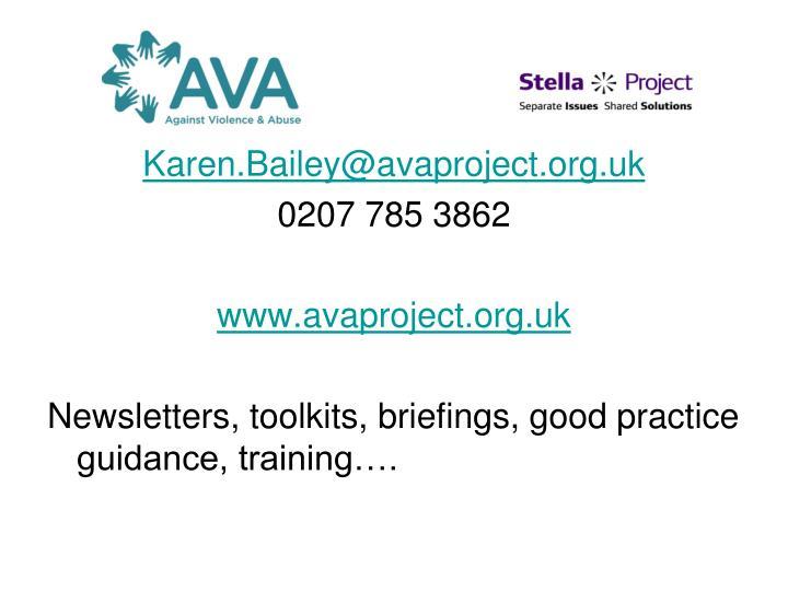 Karen.Bailey@avaproject.org.uk