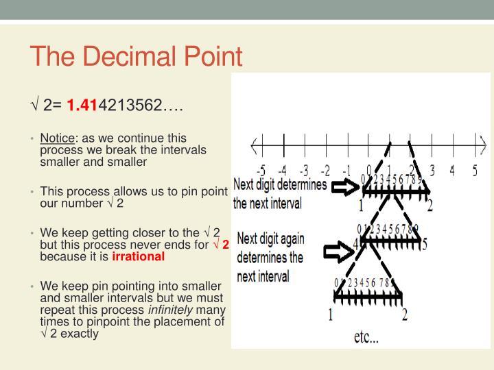 The Decimal Point