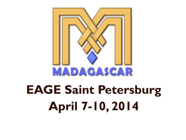 EAGE Saint Petersburg