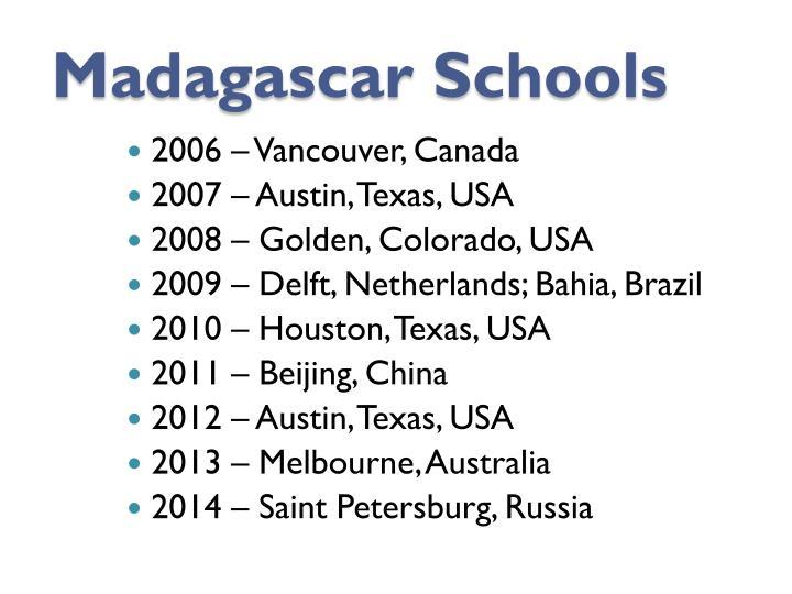 Madagascar Schools