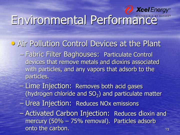Environmental Performance