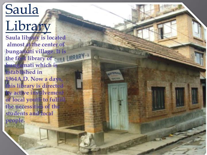 Saula Library