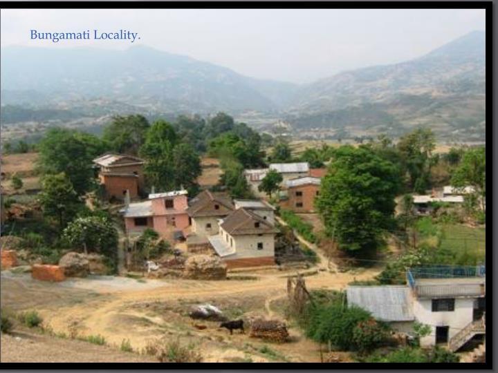 Bungamati Locality.