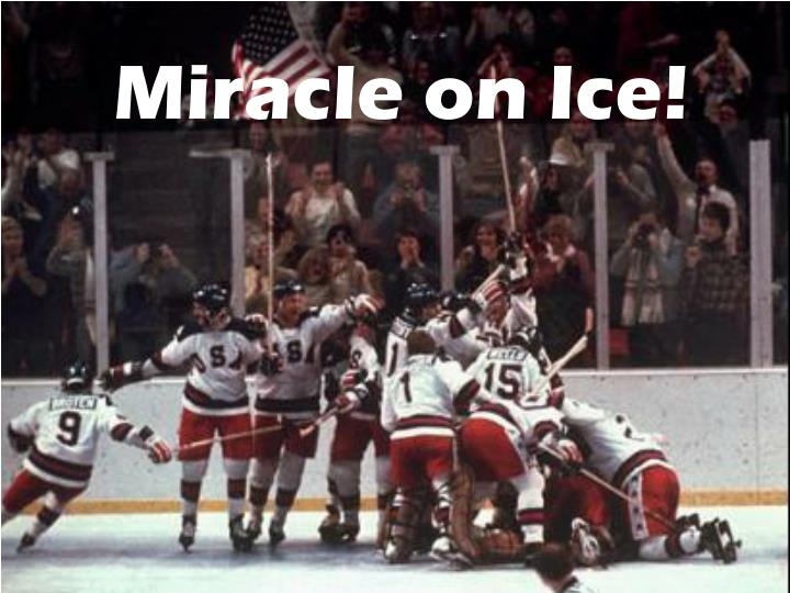 Miracle on Ice!