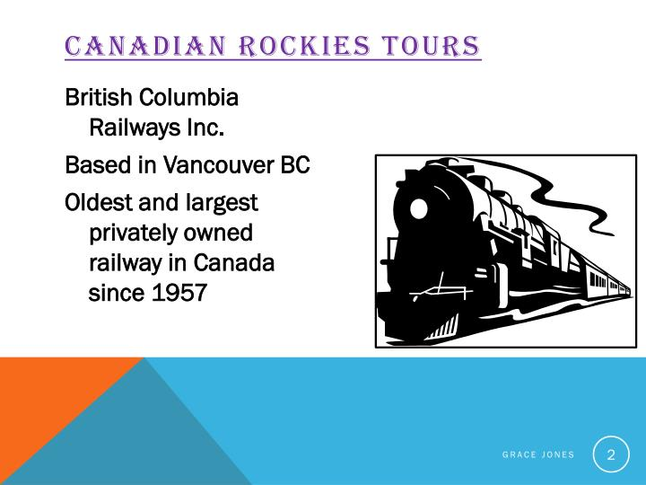 Canadian rockies tours