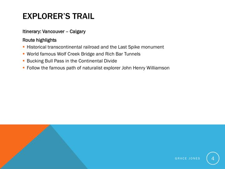 Explorer's Trail