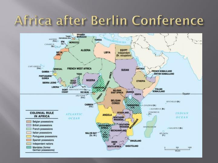 Africa after