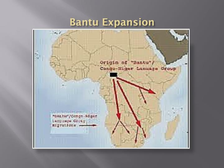 Bantu Expansion