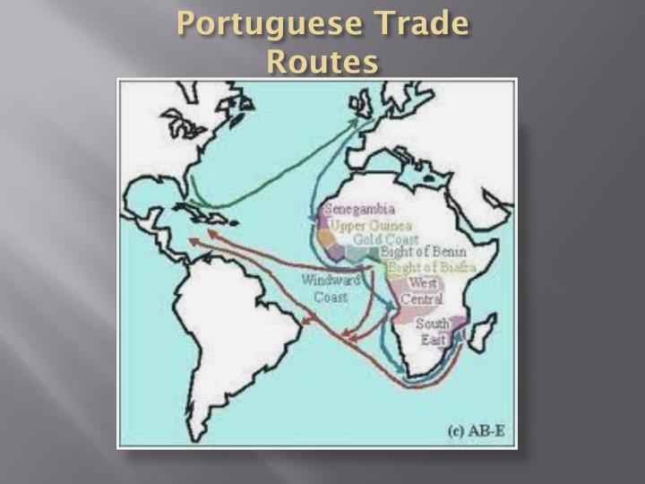 Portuguese Trade Routes