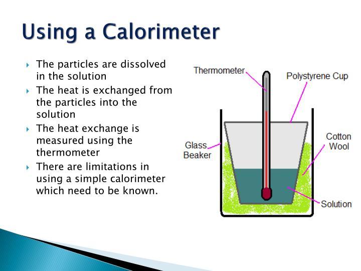 Using a Calorimeter
