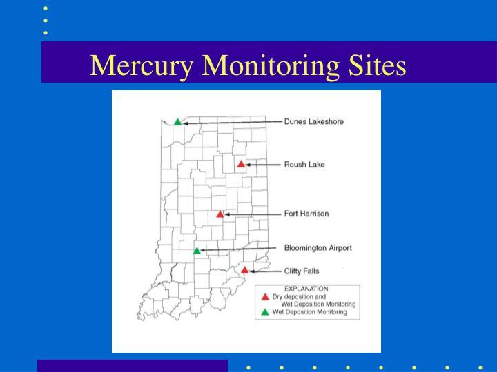 Mercury Monitoring Sites