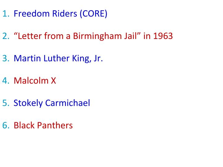 Freedom Riders (CORE)