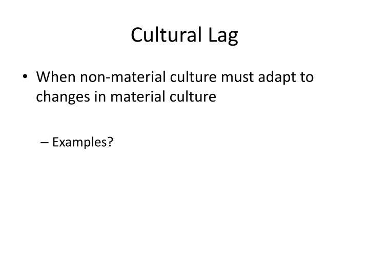 Cultural Lag