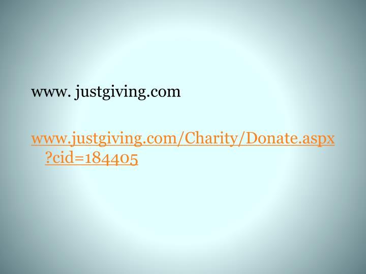www. justgiving.com