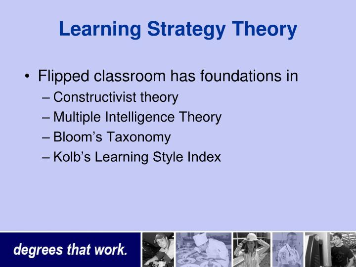 Learning Strategy Theory