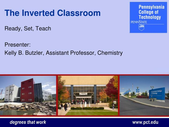 The inverted classroom