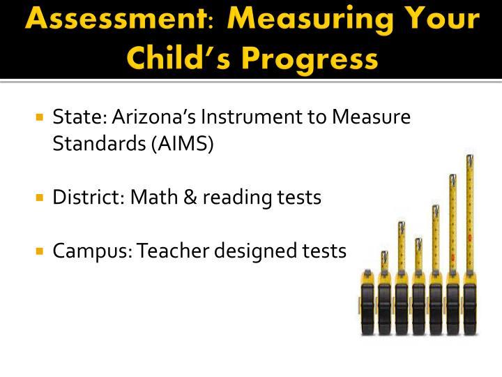 Assessment: Measuring Your Child's Progress