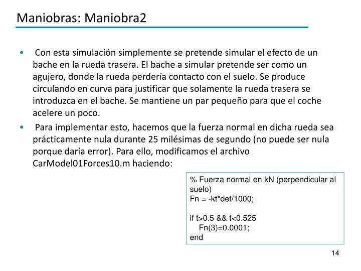 Maniobras: Maniobra2