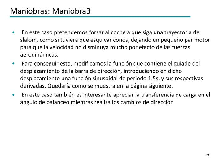 Maniobras: Maniobra3