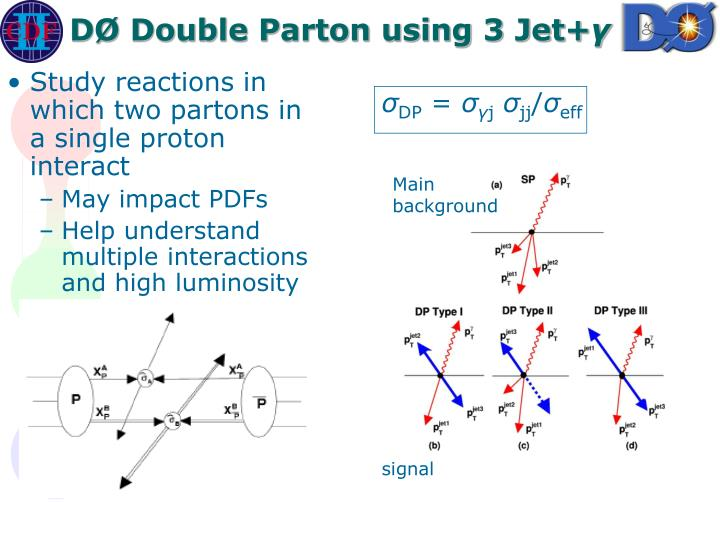 DØ Double Parton using 3 Jet+