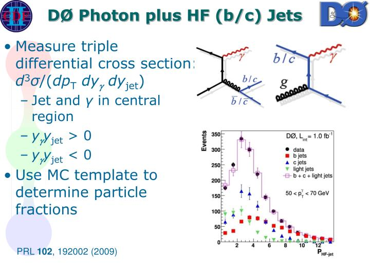 DØ Photon plus HF (b/c) Jets