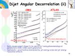 dijet angular decorrelation ii