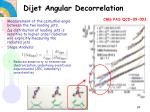 dijet angular decorrelation