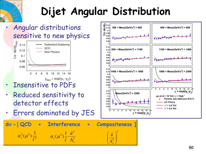 Dijet Angular Distribution
