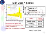 dijet mass x section1