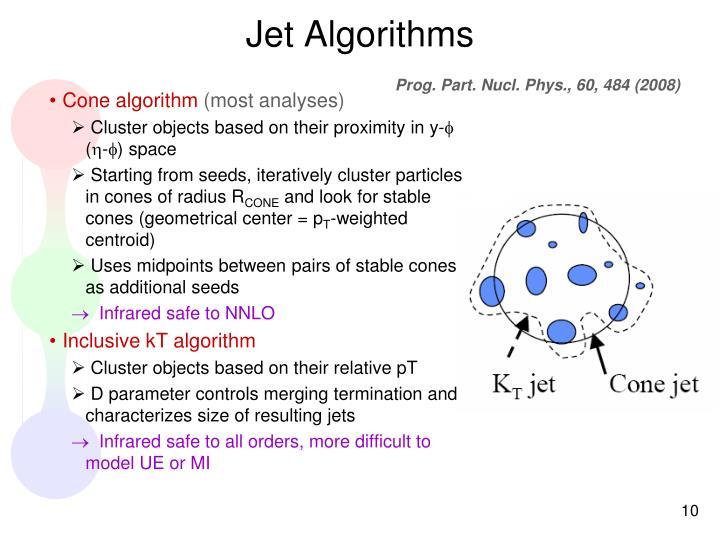 Jet Algorithms
