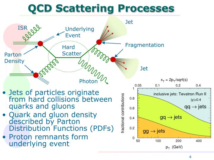 QCD Scattering Processes