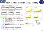 run 2 jet x section data theory