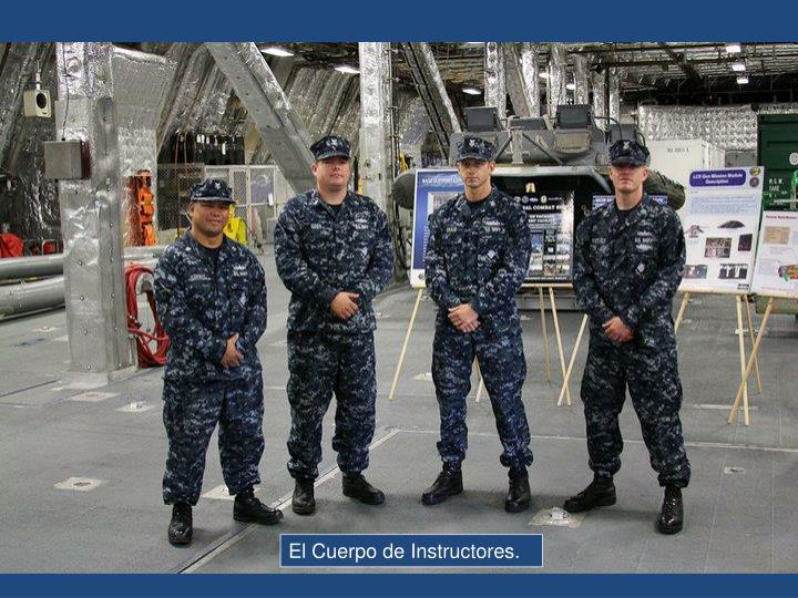 El Cuerpo de Instructores.